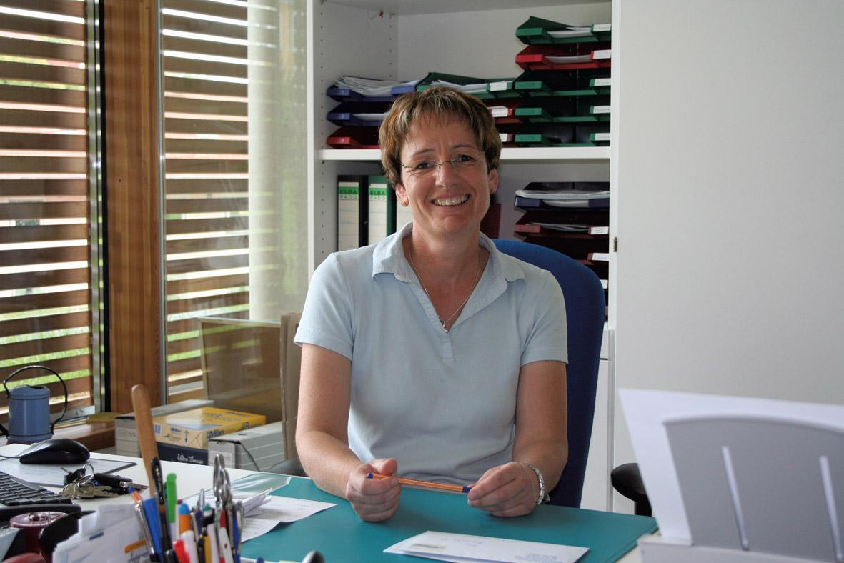 Pflegedienstleitung Brigitta Schneider